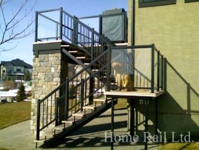 Stair Railing Medicine Hat